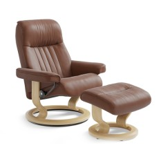 Crown Chair & Ottoman (M)