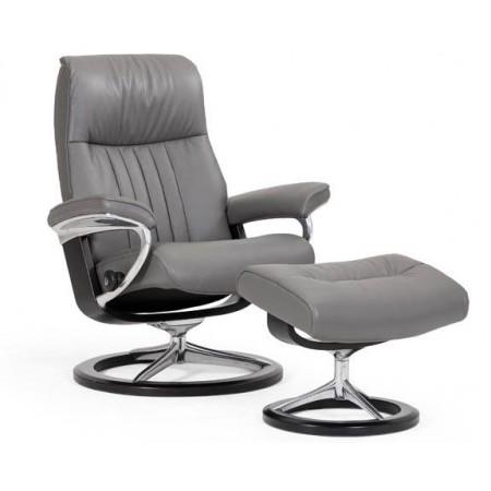 Crown Chair & Ottoman (S)