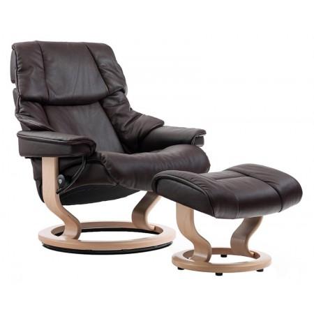 Reno Chair & Ottoman (L)