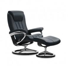 Bliss Classic Chair & Ottoman (L)