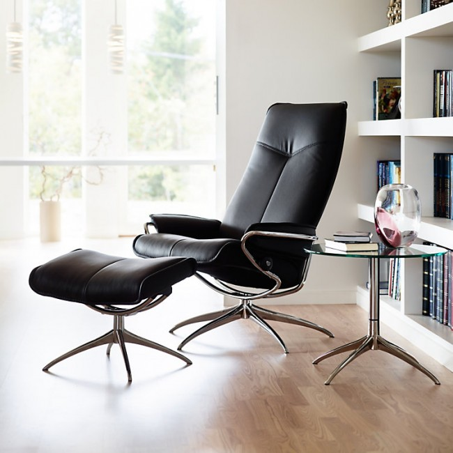 City High Back Chair Ottoman Standard