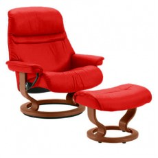 Sunrise Classic Chair & Ottoman (S)