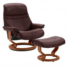 Sunrise Classic Chair & Ottoman (M)
