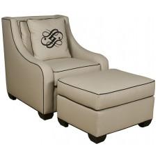 Barkley Chair and Ottoman