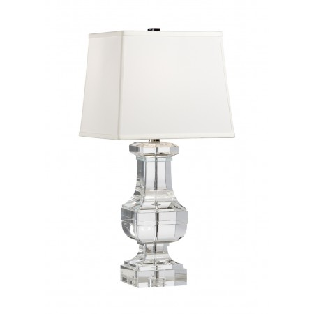 Square Crystal Urn Lamp