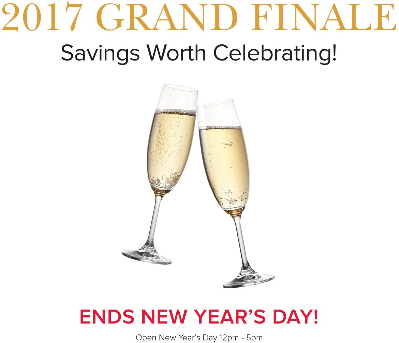 2017 Grand Finale Sale