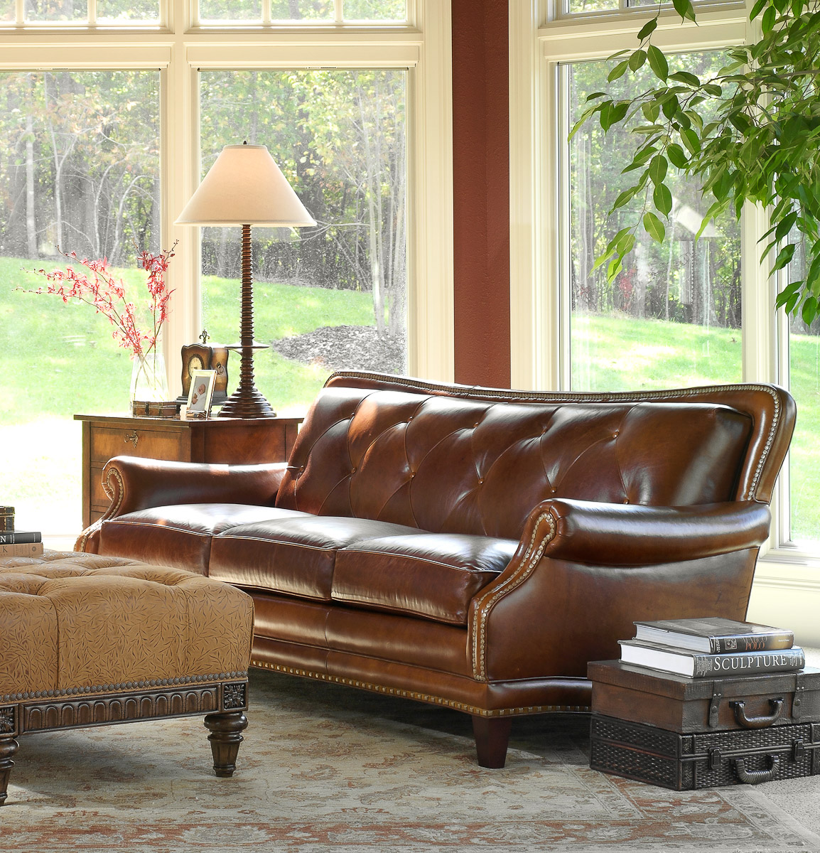 Sofa: Living Room Leather Furniture