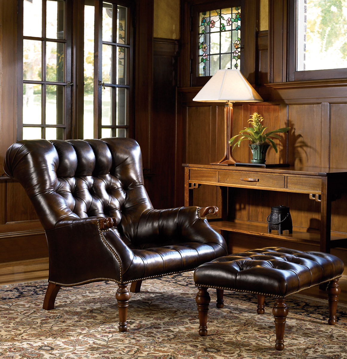 Living room leather furniture for Living room chairs