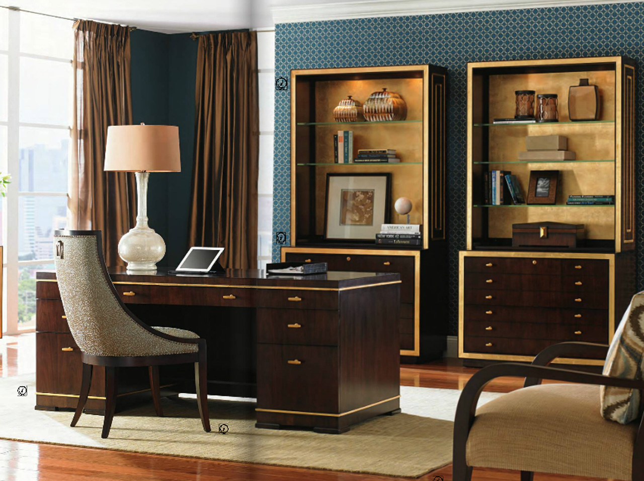 Home office furniture Classic home office design ideas