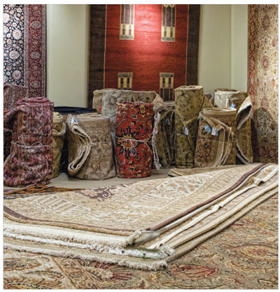 HAND-KNOTTED RUG GALLERY