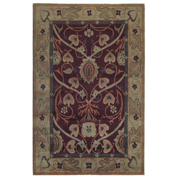 Arts And Crafts Rugs Pottery Barn: Bungalow Garden Stickley Rug