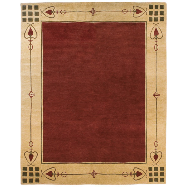 Highland Park Red Stickley Rug