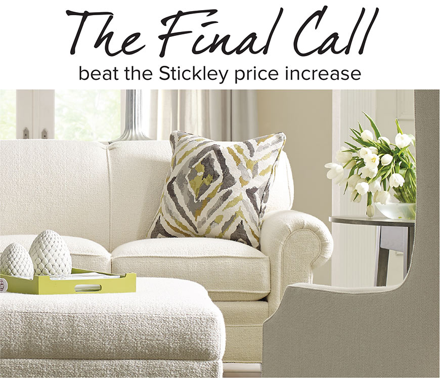 STICKLEY FURNITURE SALE